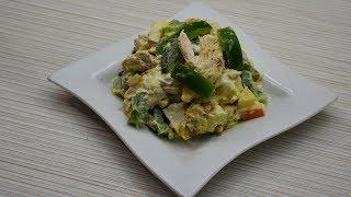 Мой первый фирменный салат