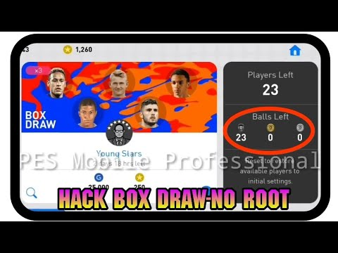 Hack PES 2019 Mobile Box Draw | Game Guardian - No Root