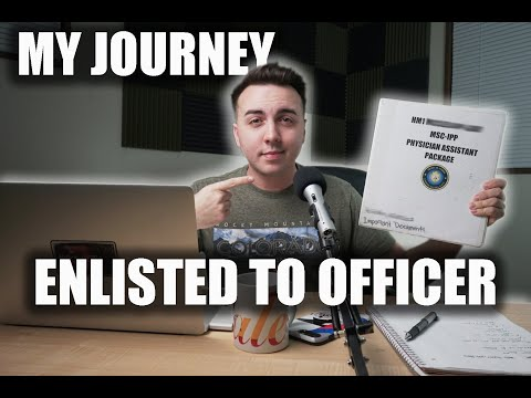 GOING FROM ENLISTED TO OFFICER: MY MILITARY JOURNEY PART 1