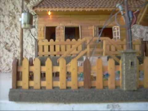 Miniatura de casinha com palitos de picol wmv youtube - Como hacer casas en miniatura ...