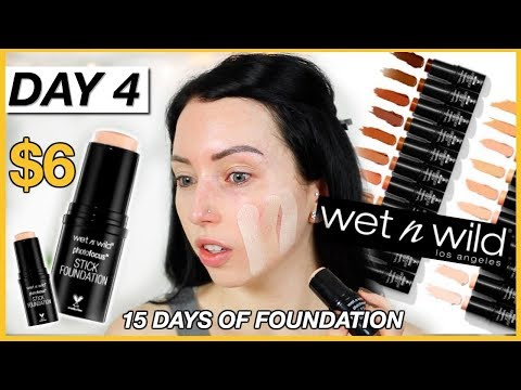 New Wet n Wild STICK FOUNDATION! {First Impression Review & Demo!} Dry Skin