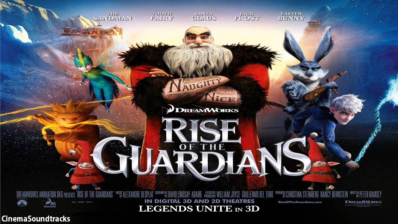 Rise Of The Guardians Soundtrack | 02 | Alone In The World ...