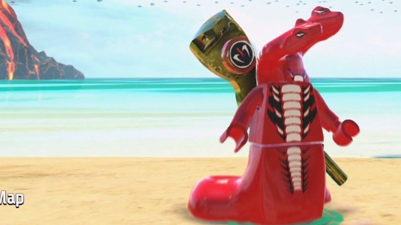 LEGO Ninjago Movie Video Game - Fangtom - Open World Free ...