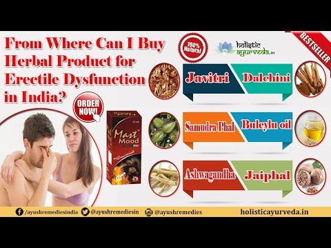 From Where Can I Buy Erectile Dysfunction Herbal Product in India? thumbnail
