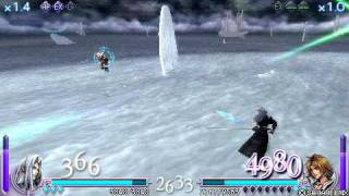 Final Fantasy Dissidia - Sephiroth Vs Tidus (USA ver)
