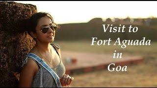 visit to fort aguada in goa final goa vlog varsha vlogs