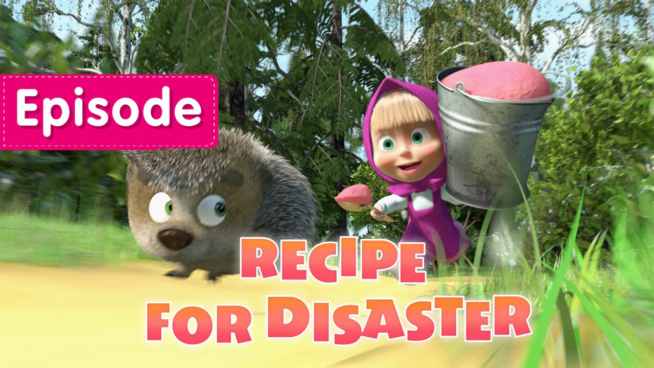 Masha and The Bear - Recipe For Disaster (Episode 17) - YouTube
