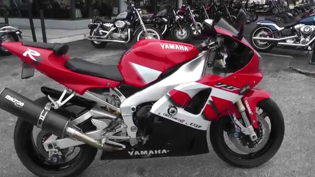 003960 2000 Yamaha R1 Used Motorcycle For Sale Youtube