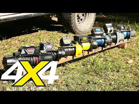 12-volt winch comparison review | 4X4 Australia