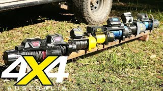 12-volt winch comparison review | 4X4 Australia