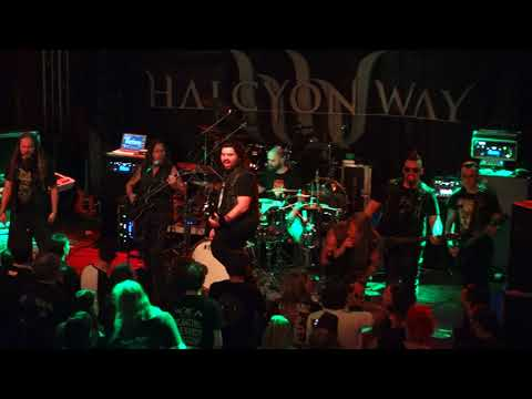 Halcyon Way - Live in Essen 19.04.2018