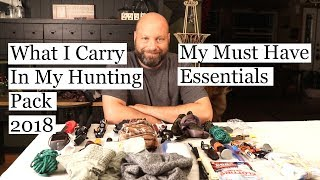 What I Carry In My Pack 2018