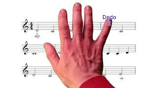Aprende la Clave de Sol en 5 min. Bellísima melodía para p...