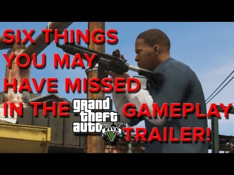 Grand Theft Auto 5 - Six Things You May Have Missed! - Eurogamer