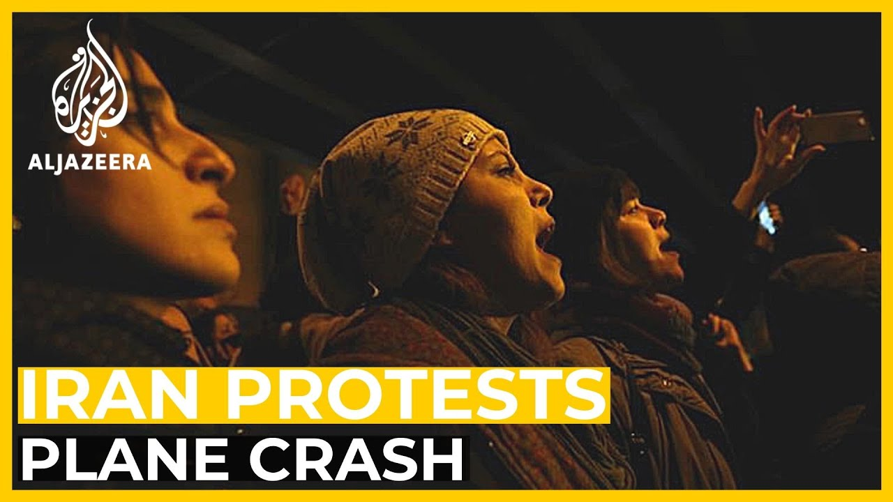 Iranian protesters demand Khamenei quit over downing of plane