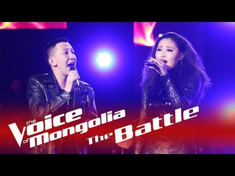 "Altannamar vs Buren-Ireedui - ""Total eclipse of the heart"" - The Voice of Mongolia 2018"