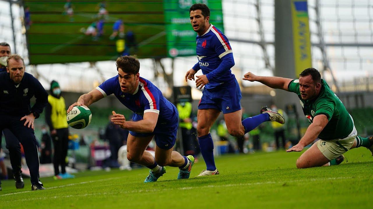 XV de France : Le résumé d'Irlande-France (13-15)