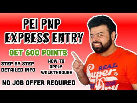 Prince Edward Island PNP : Express Entry | No Job Offer Required | Step By Step Info | WalkThrough