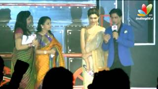 Shahrukh Khan talks about Lungi Dance | Chennai Express Press Meet | Fashion Show | Songs