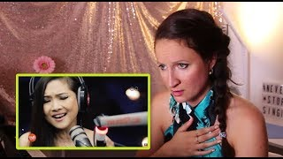 Vocal Coach REACTS to SHERYN REGIS- COMING IN OUT OF THE RAIN