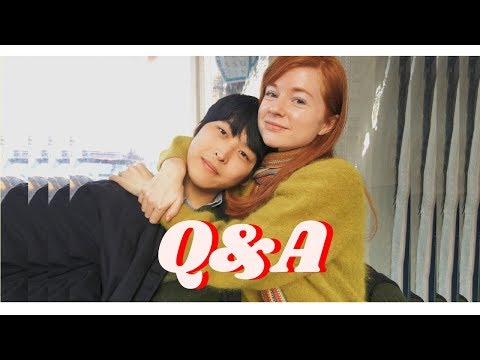 Q&A With My Boyfriend   Age Difference? Language Barrier?   Dating In Korea