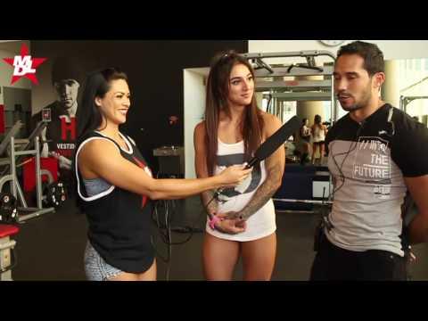 Bakhar habla para MD Latino en El Fitness Weekend Mexico