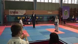 Чемпионат области каратэ  8-9 лет  -30 кг БОРИСОВ 25.11.17 IMG 82331