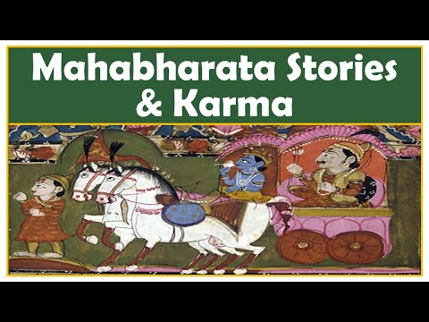 "Some Mahabharata Stories Imply Karma ""IS"" Eye-for-Eye. Can You Explain?"