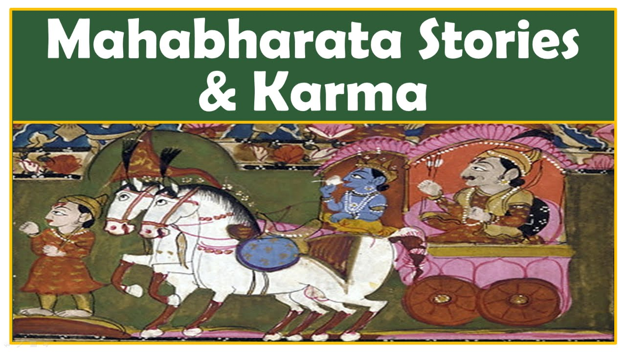 "Mahabharata & Karma | Some Stories Imply Karma ""IS"" Eye for"