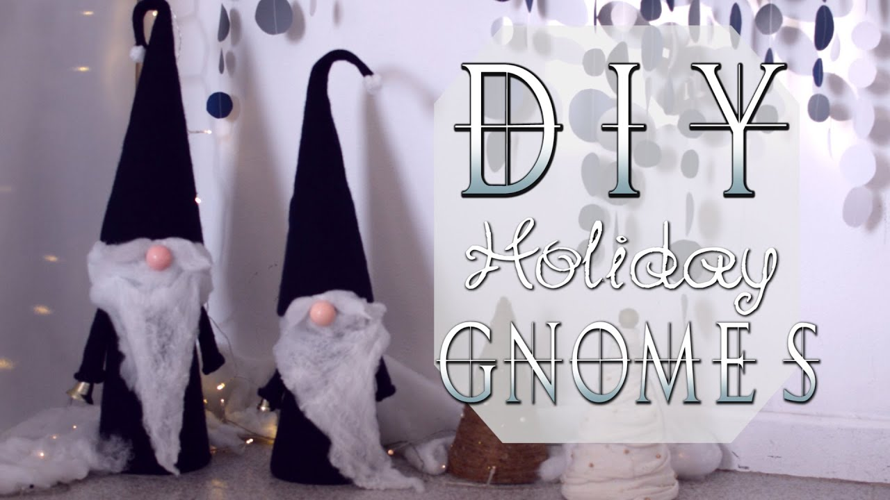diy nordic holiday gnomes youtube
