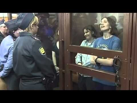 Pussy Riot: Three women jailed for hooliganism