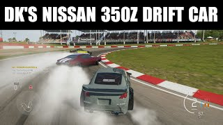 Forza 6 - Drift Build - DK's Nissan 350z Drift Car!!