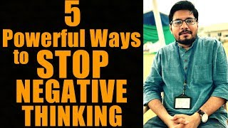 5 Ways to Overcome Negative Thought Patterns   Stop Negative Thoughts   How to Use Law of Attraction