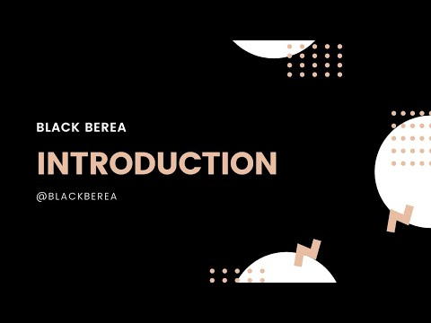 Black Berea - Introduction