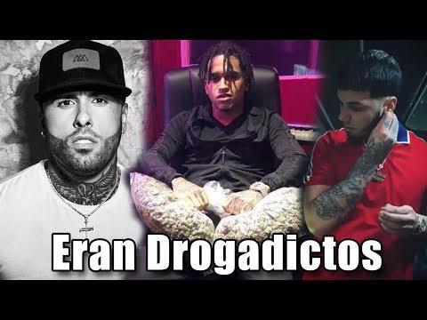 Artistas Que Eran Adictos A Las Drogas | Anuel, Nicky Jam