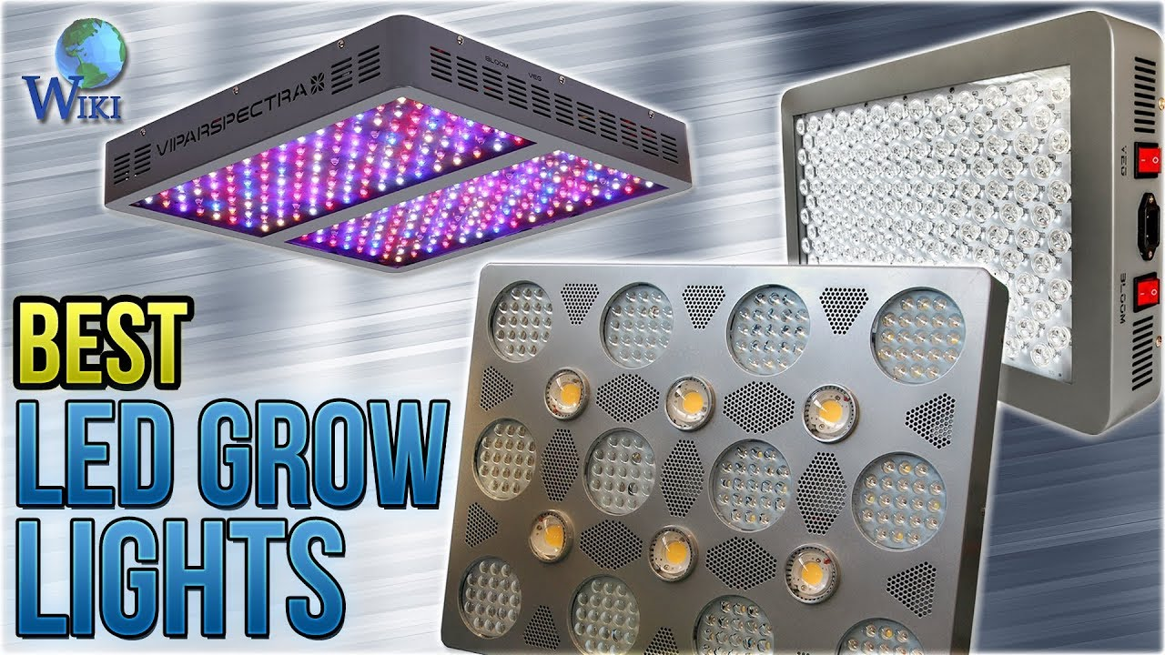 10 Best LED Grow Lights 2018