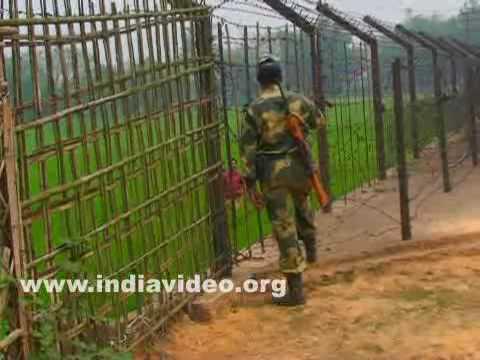 Tripura - Bangladesh border fence