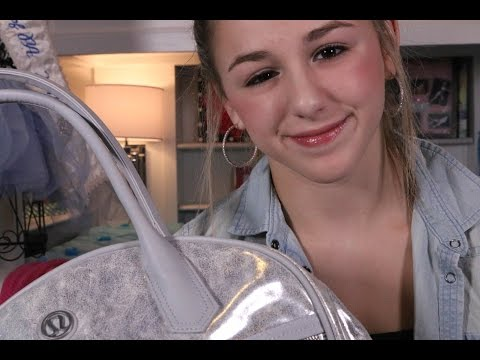 What's in Chloe Lukasiak's Dance Bag   Team Chloe Dance Project