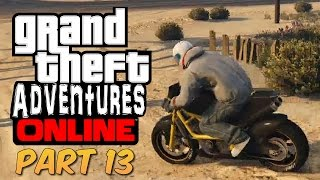 Grand Theft Adventures - Joining a Motorcycle Club (GTA Online PS4)