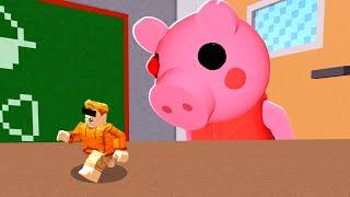 PIGGY But I'm TOO TINY.. (Piggy Custom Map)