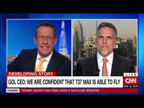 Gol CEO: We are confident 737 MAX is able to fly