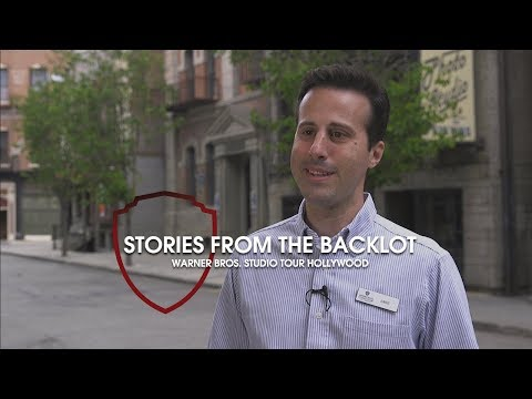 Stories from the Backlot: Tour Guide Jake