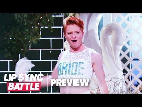 "Brendan Scannell Slays ""Mamma Mia"" by ABBA | ""Heathers"" Lip Sync Battle Preview"