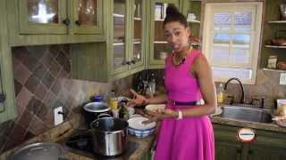 High Heels In The Kitchen Sautéed Kale Episode 1 Part 3 (lamb Shanks Episode)