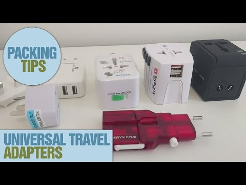 Which Universal Travel Adapter to Use