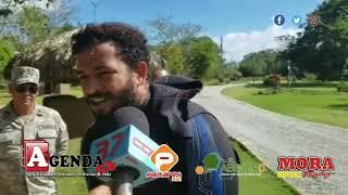 Gambar cover Buscan dos italianos desaparecidos al sumergirse en Laguna Dudú