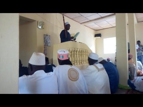 Sermon d'Oustaz Hamid Companya du 16 juin 2017 à l'inauguration de la mosquée de Horé Hollaandé
