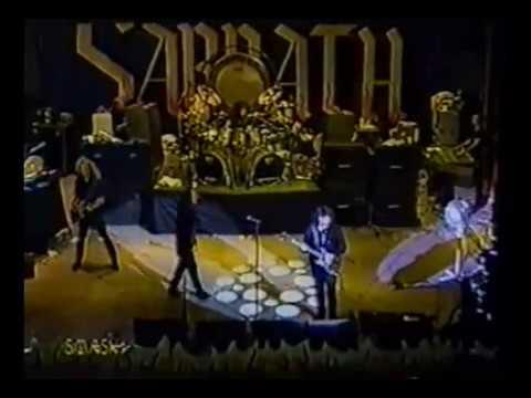Black Sabbath Live at The Orpheum Theatre, Gzira Malta 25th August 1995
