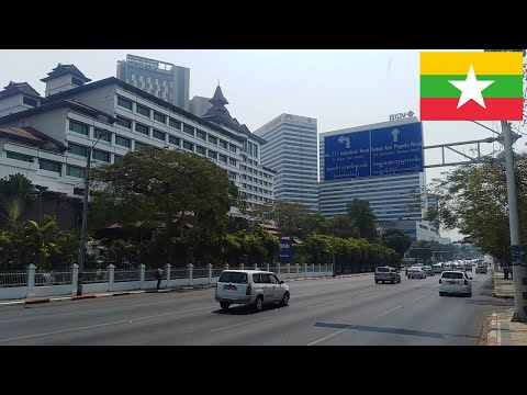 Yangon Sightseeing Tour 2020 | The Central | Inya Lake | Myanmar Centre