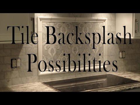 Kitchen Tile Backsplash Possibilities.